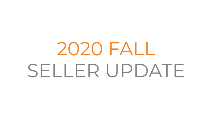 2020 Fall Seller Update