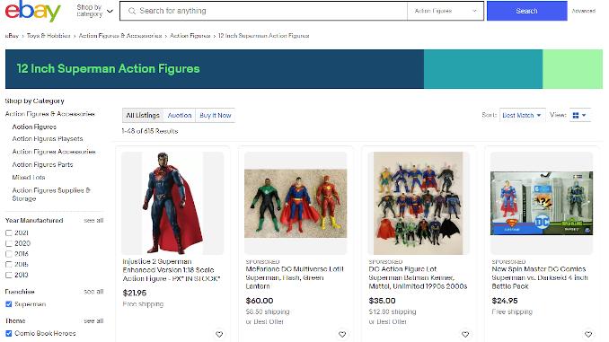 eBay Structured Data Browse Node